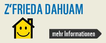 Banner Z'frieda dahuam