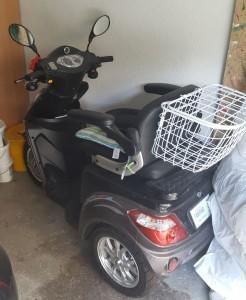 Behindertenfahrzeug zum Verleih