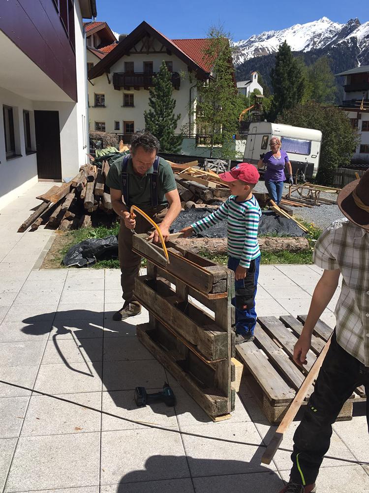 Gartenprojekt Serfaus
