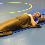 Entspannungstraining in der Volksschule Ladis
