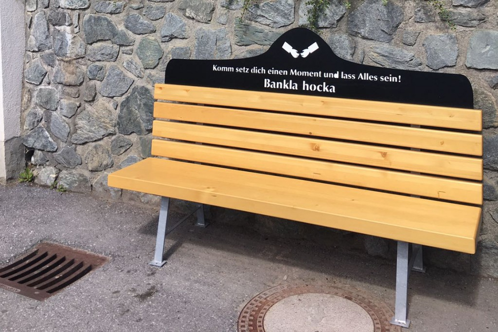 Bankla hocka in Serfaus-Fiss-Ladis